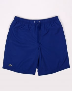 Lacoste Diamond Drawstring Shorts French Blue