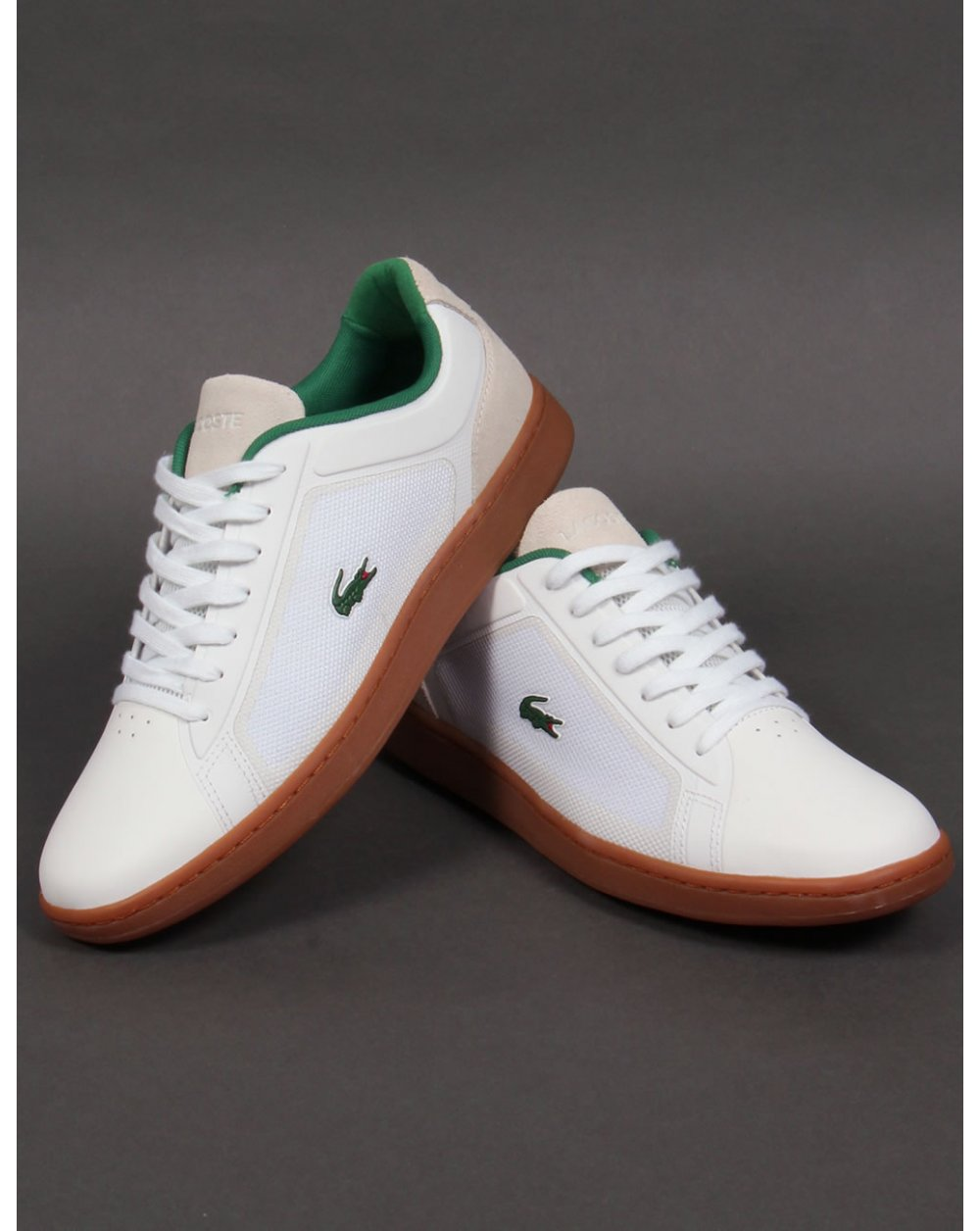 Lacoste Endliner Trainers White/gum