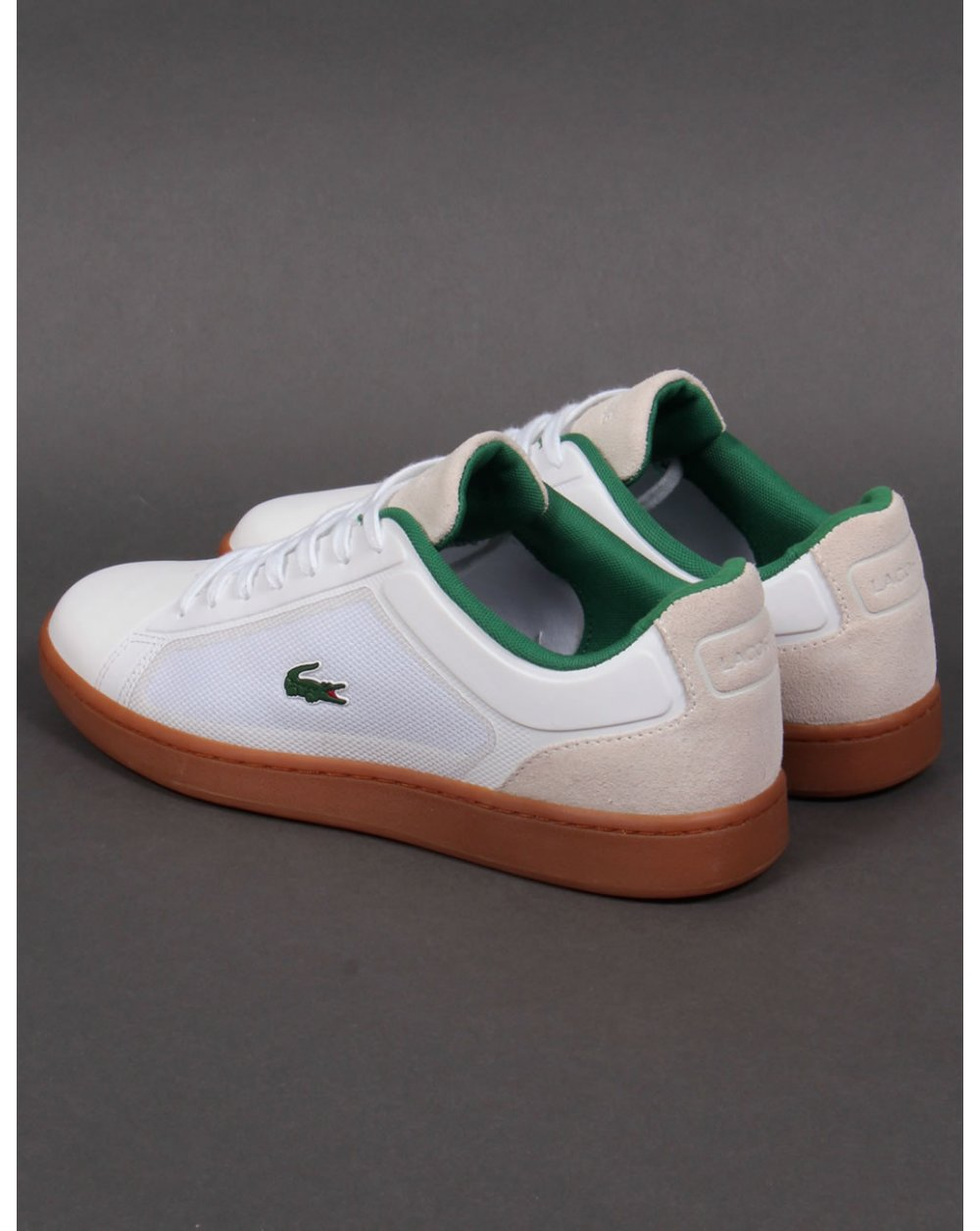 Lacoste White Shoes Fashion