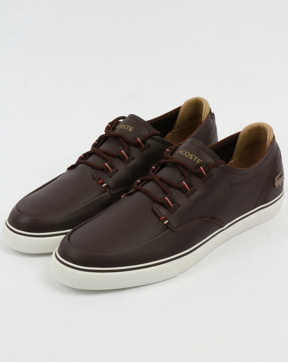Lacoste Esparre Deck Shoe Brown/Light