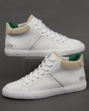 Lacoste Footwear Lacoste Fairlead Mid Trainers White