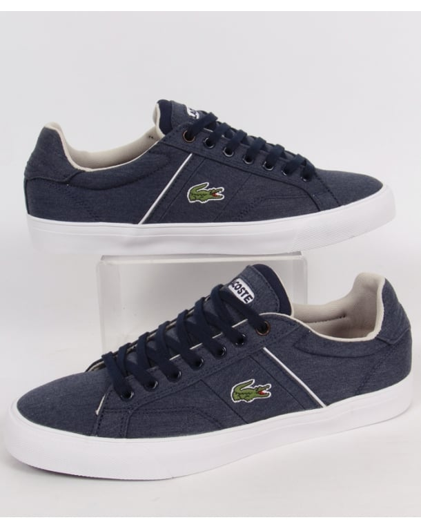 Lacoste Fairlead Trainers Dark Blue