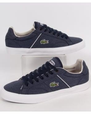 Lacoste Footwear Lacoste Fairlead Trainers Dark Blue