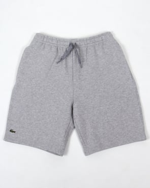 Lacoste Fleece Shorts Grey Marl