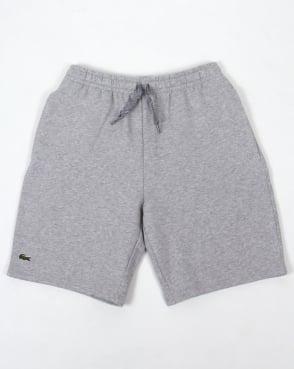 Lacoste Fleece Shorts Grey Marl