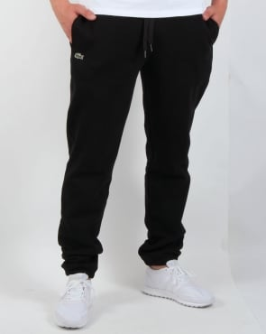 Lacoste Fleece Track Pants Black