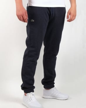 Lacoste Fleece Track Pants Navy Marl