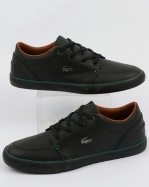 Lacoste Footwear Bayliss Leather Trainers Black