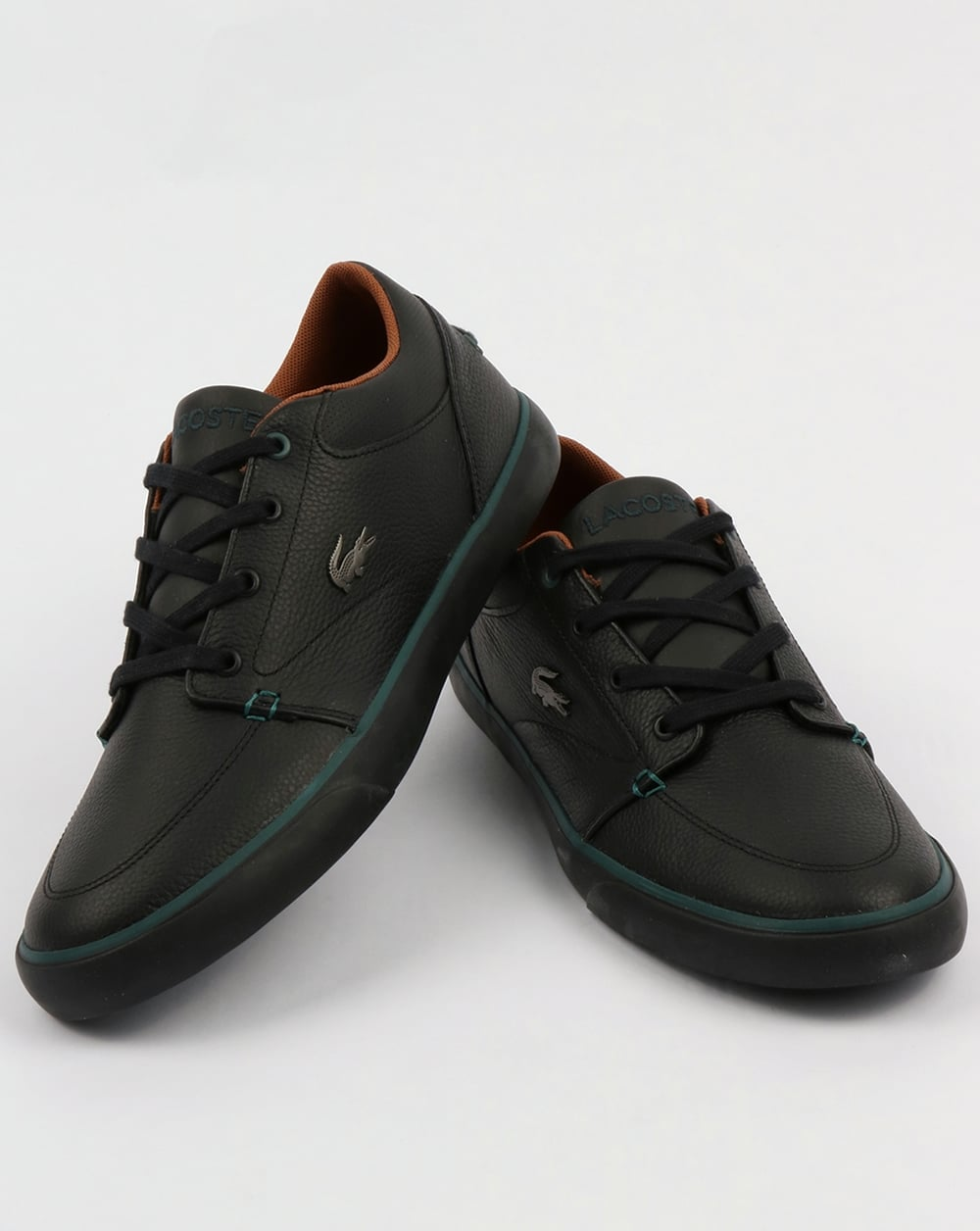 5cfd9a1cd Lacoste Footwear Bayliss Leather Trainers Black