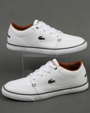 Lacoste Footwear Bayliss Leather Trainers White