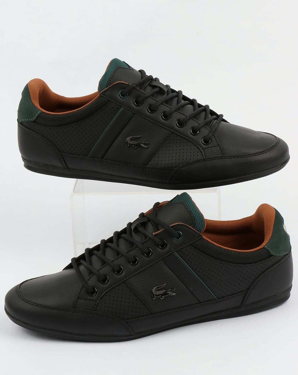 dc5173b70ad1 Lacoste Lacoste Footwear Chaymon Trainers Black Tan