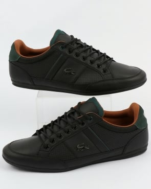 Lacoste Footwear Chaymon Trainers Black/Tan