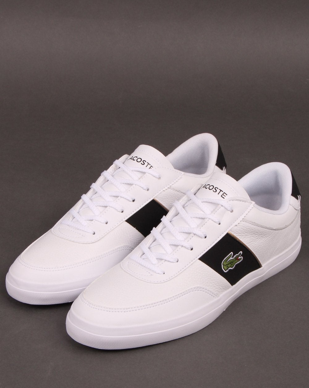 lacoste court master white - 64% OFF