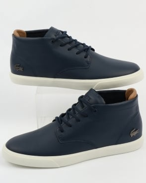 Lacoste Footwear Espere Chukka Boots Navy