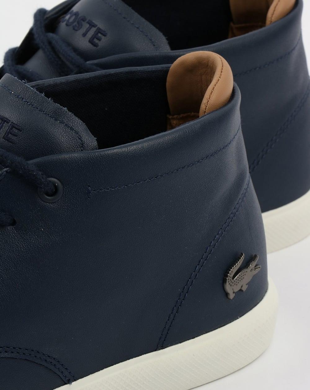 5b0175c4c3a Lacoste Footwear Espere Chukka Boots Navy