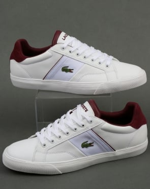 Lacoste Footwear Fairlead Trainers White