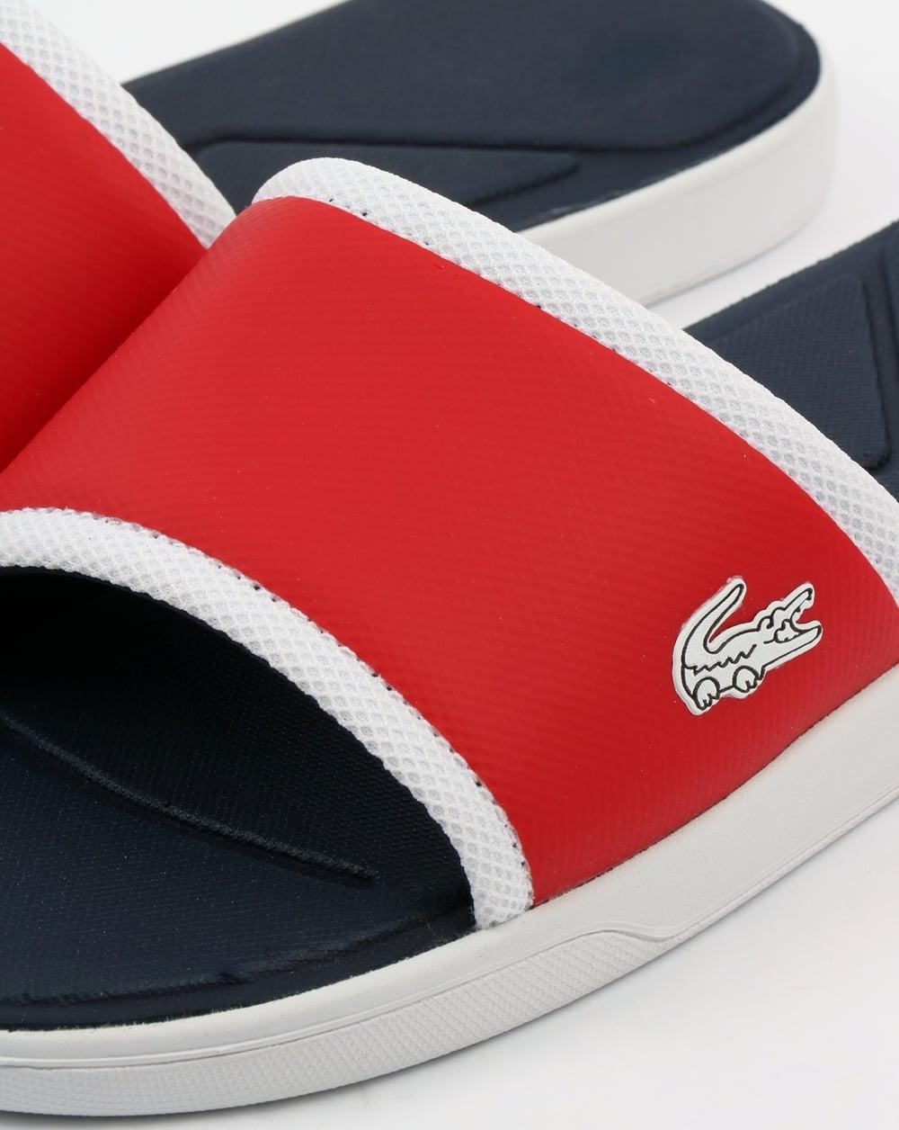 4c837a995 Lacoste Footwear L.30 Sliders Red