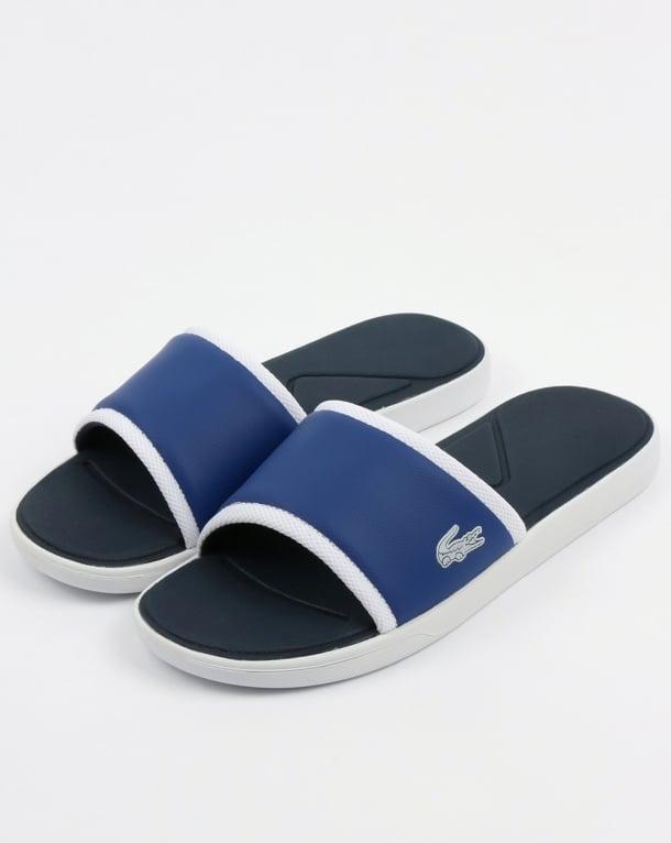 Lacoste Footwear L.30 Slides Dark Blue