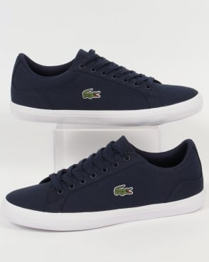 Lacoste Footwear Lerond Bl Trainers Navy