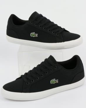Lacoste Footwear Lerond Canvas Trainers Black