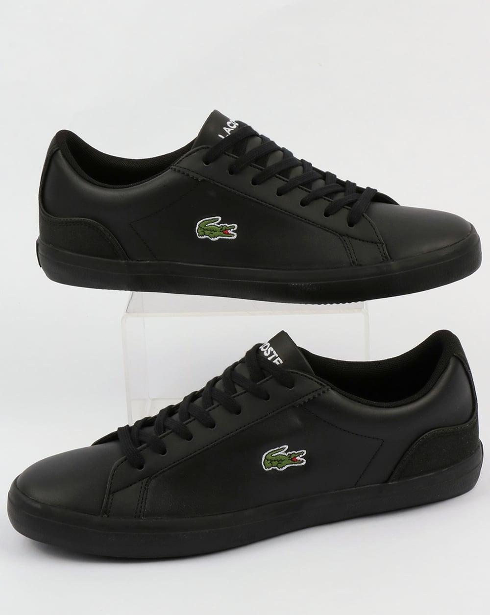 8b023884068223 Lacoste Lacoste Footwear Lerond Trainers Black