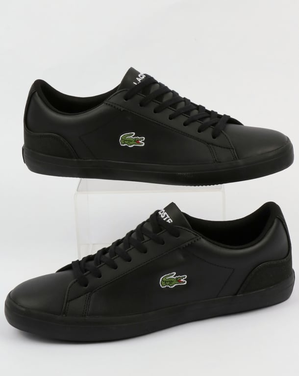 brand new unisex cheap price Lacoste Lerond Trainers in Black sneakernews for sale UriaxvVL