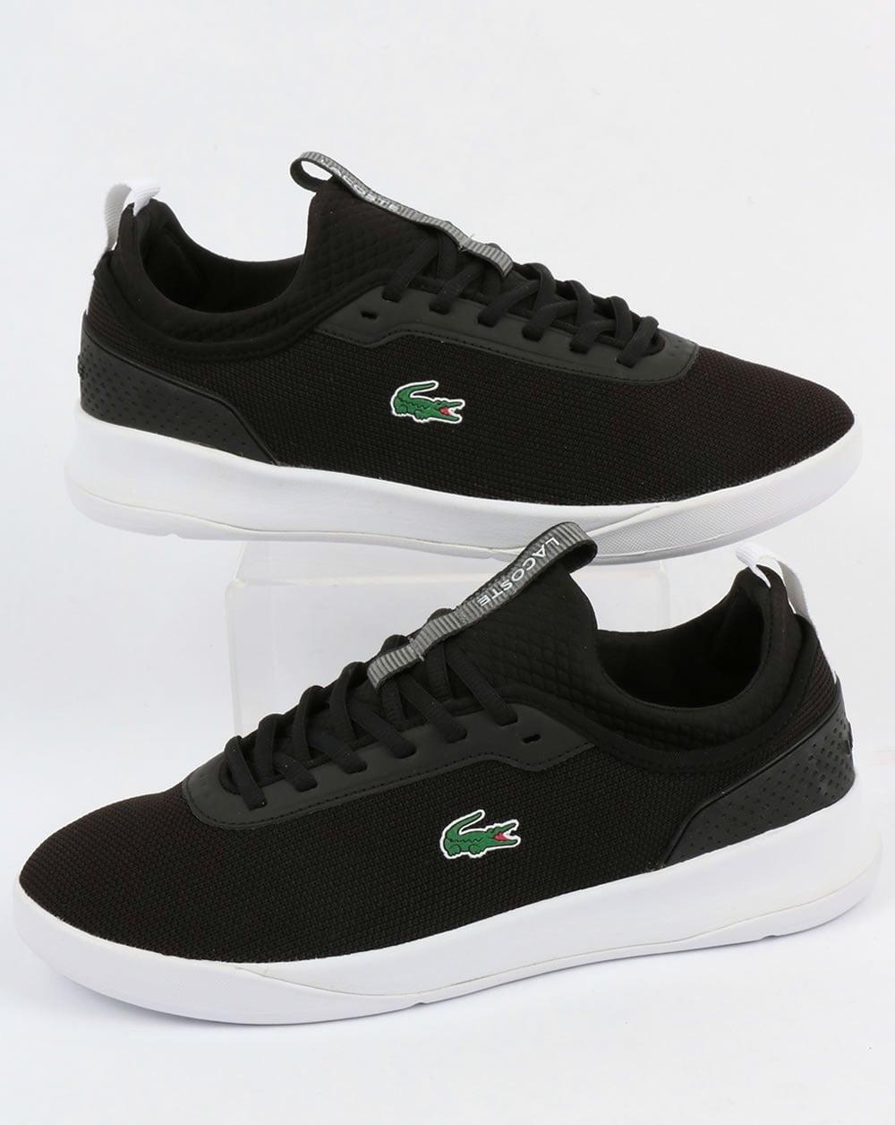 3eaadb035 Lacoste Lacoste Footwear LT Spirit 2.0 Trainers Black White