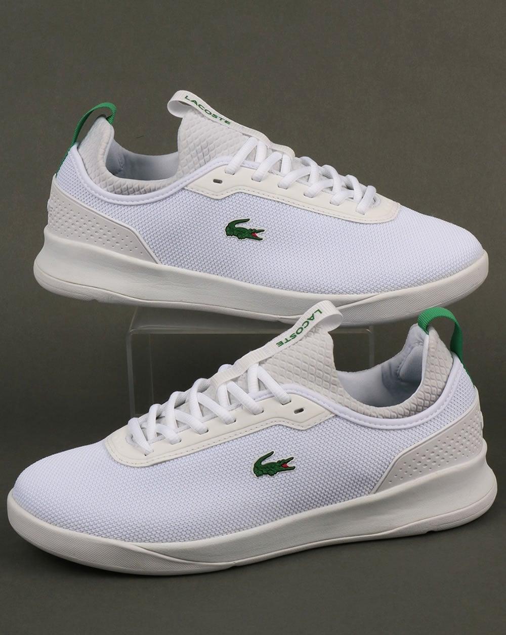 e550b7f99 Lacoste Lacoste Footwear Lt Spirit 2.0 Trainers White Green