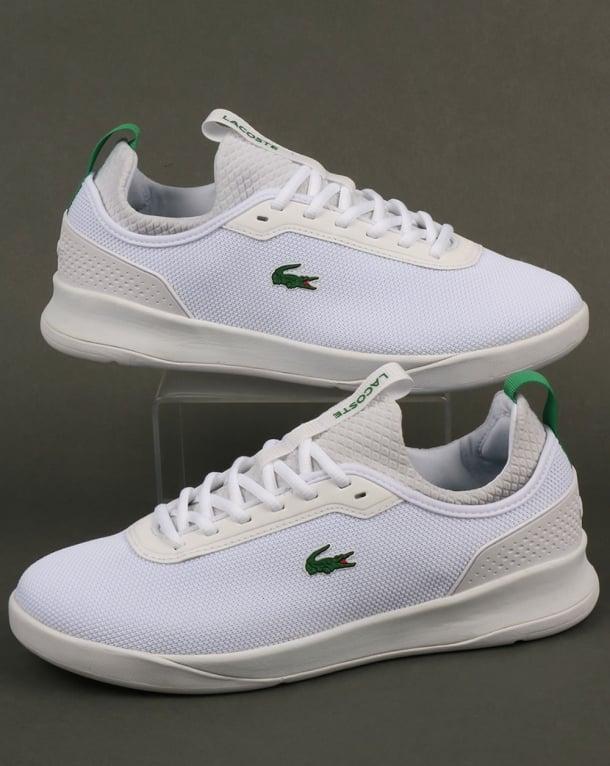Lacoste Footwear Lt Spirit 2.0 Trainers White/Green