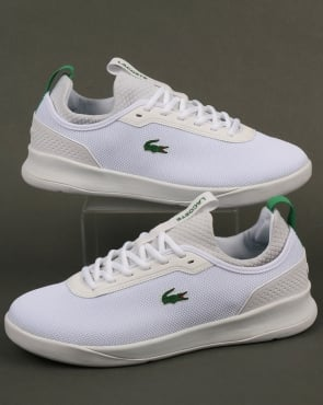 Lacoste Footwear Lt Spirit 2.0 Trainers White/Green