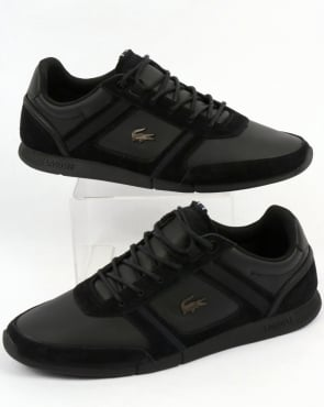 Lacoste Footwear Menerva Trainers Black/Black