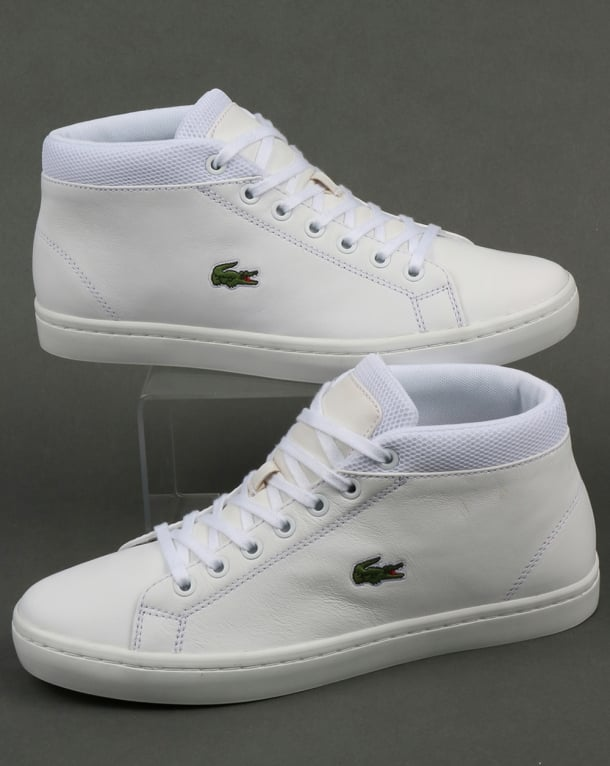 Lacoste Footwear Straightset Chukka White
