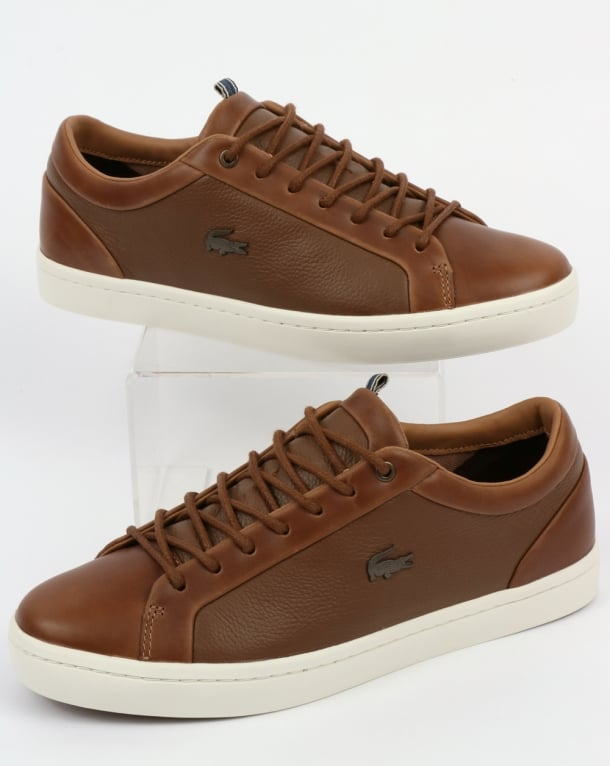Lacoste Footwear Straightset Trainers Light Brown
