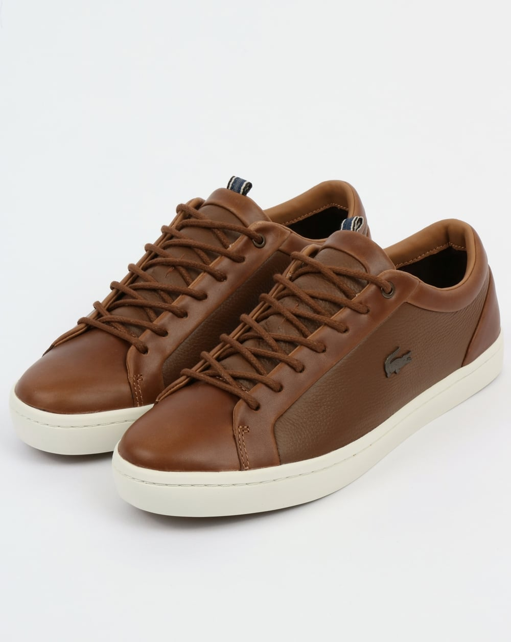 9df3685a3cefd Lacoste Footwear Straightset Trainers Light Brown