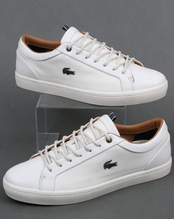 Lacoste Footwear Straightset Trainers Off White