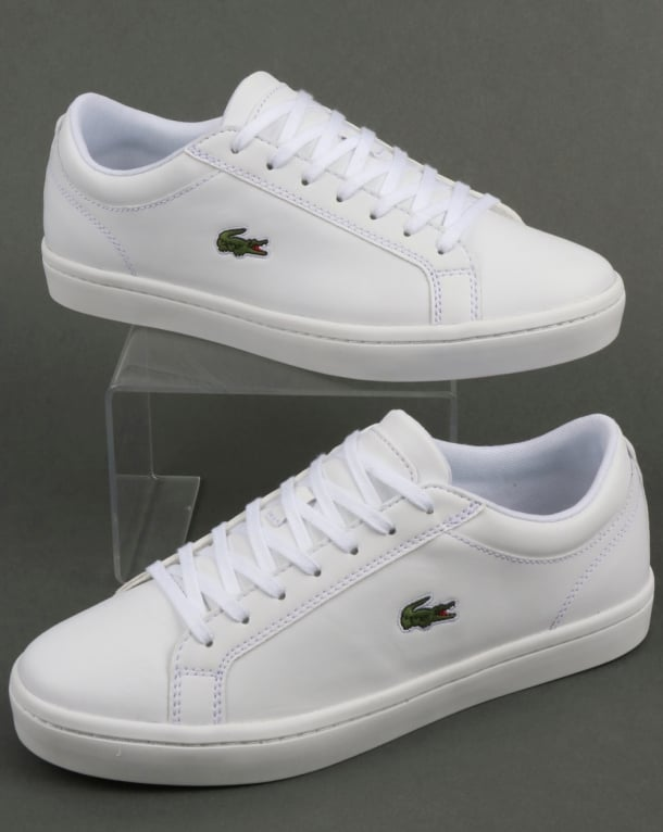 Lacoste Footwear Straightset Trainers White