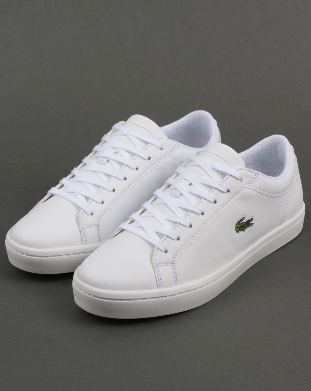 bedccf8622bbae Lacoste Footwear Straightset Trainers White