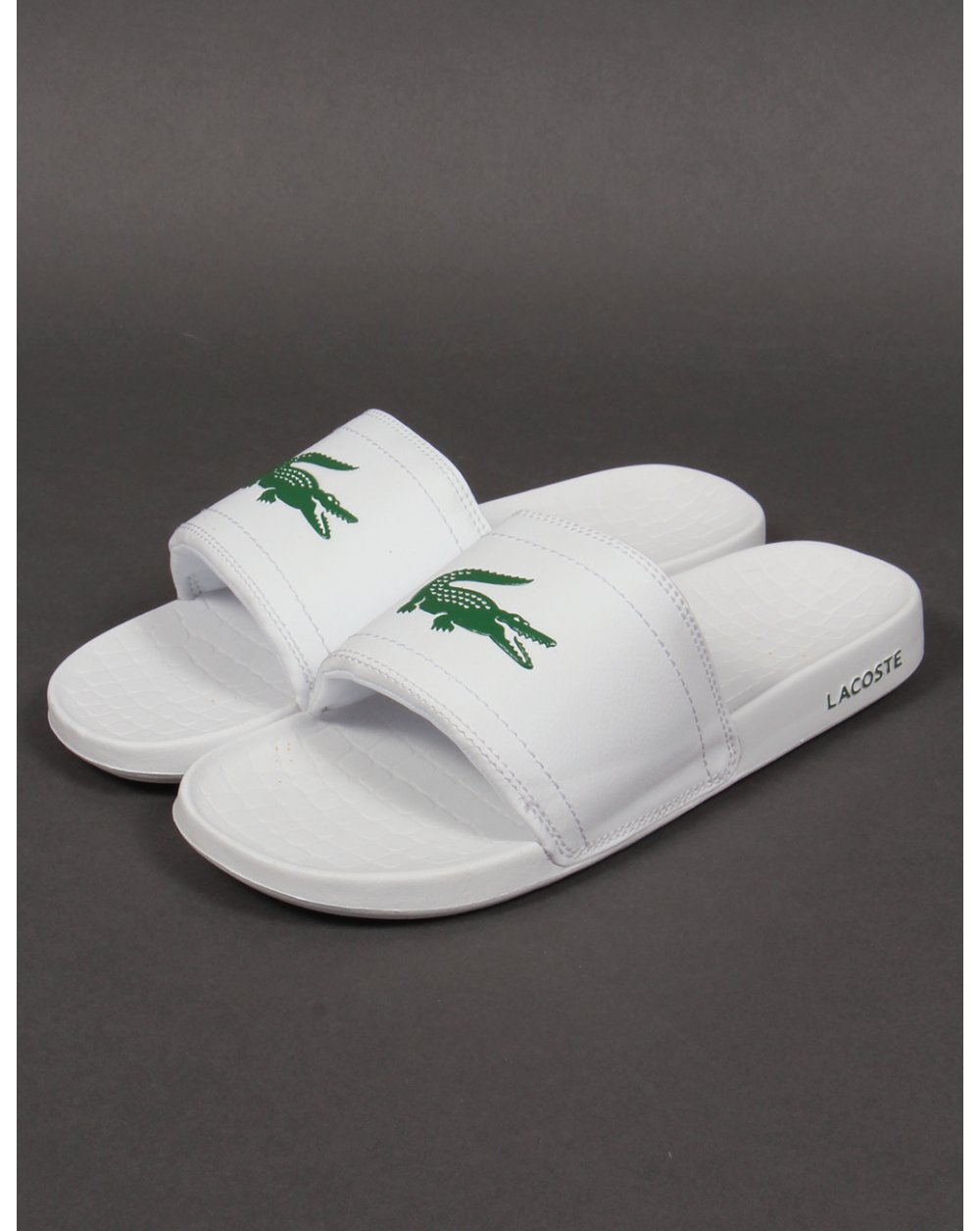 Lacoste Fraisier Pool Sliders White,sandals,flip flops,mens