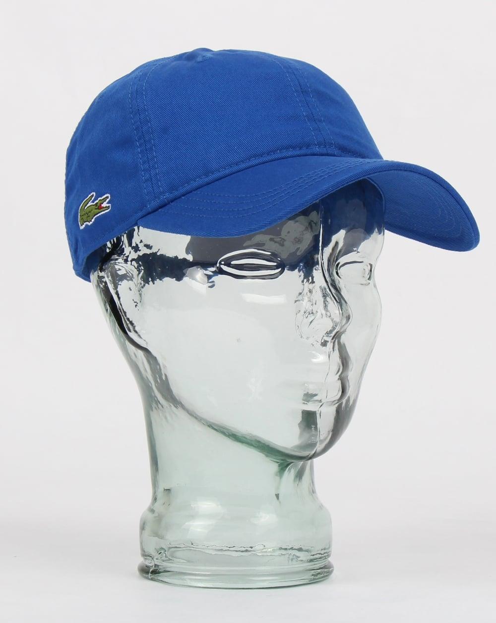 9087c04c Lacoste Gabardine Cap Royal Blue
