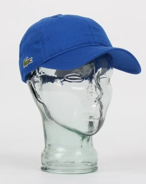 Lacoste Gabardine Cap Royal Blue
