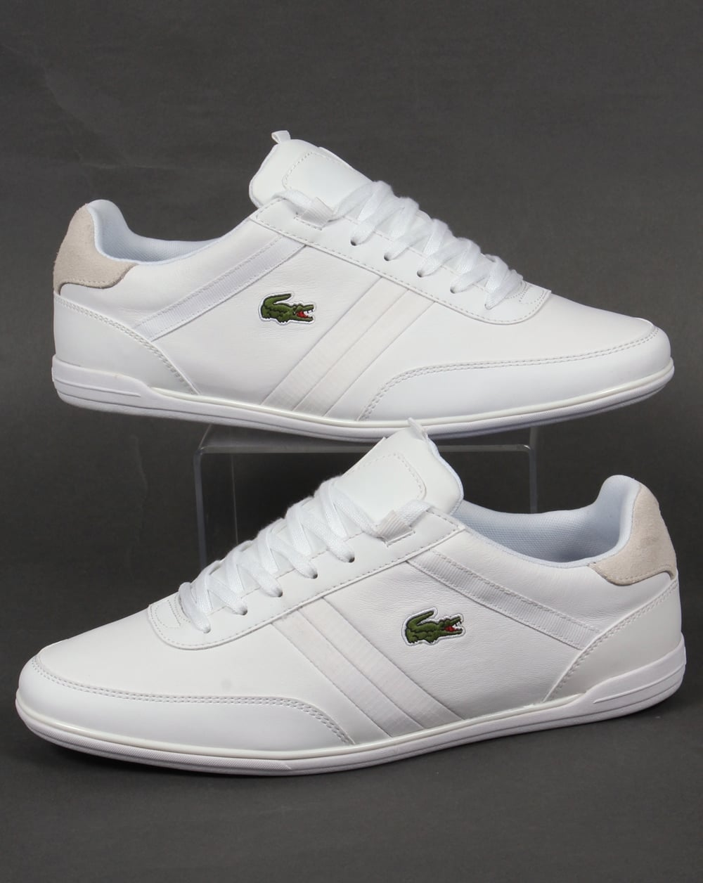 lacoste giron trainers whiteshoesmens