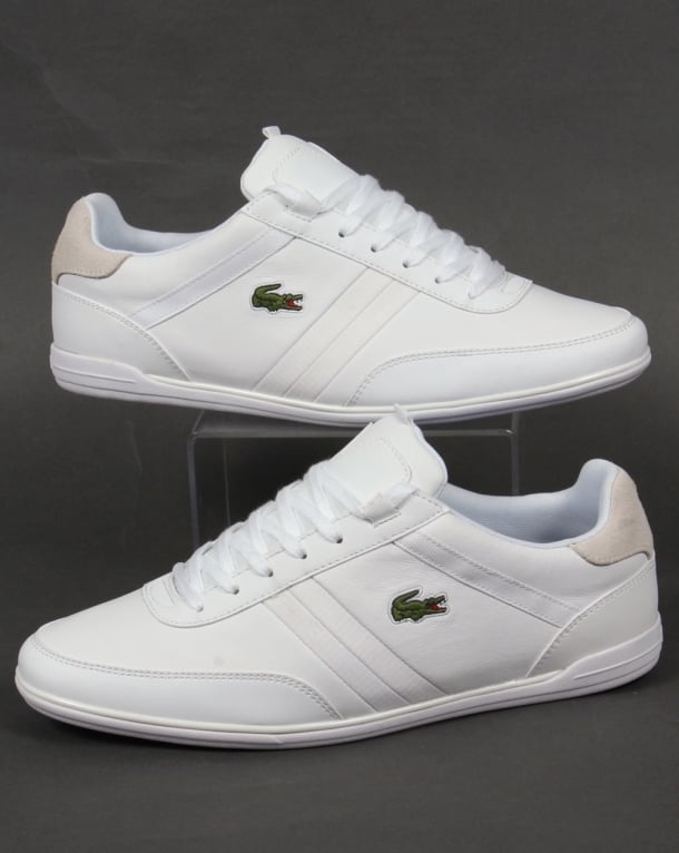 Lacoste Giron Trainers White