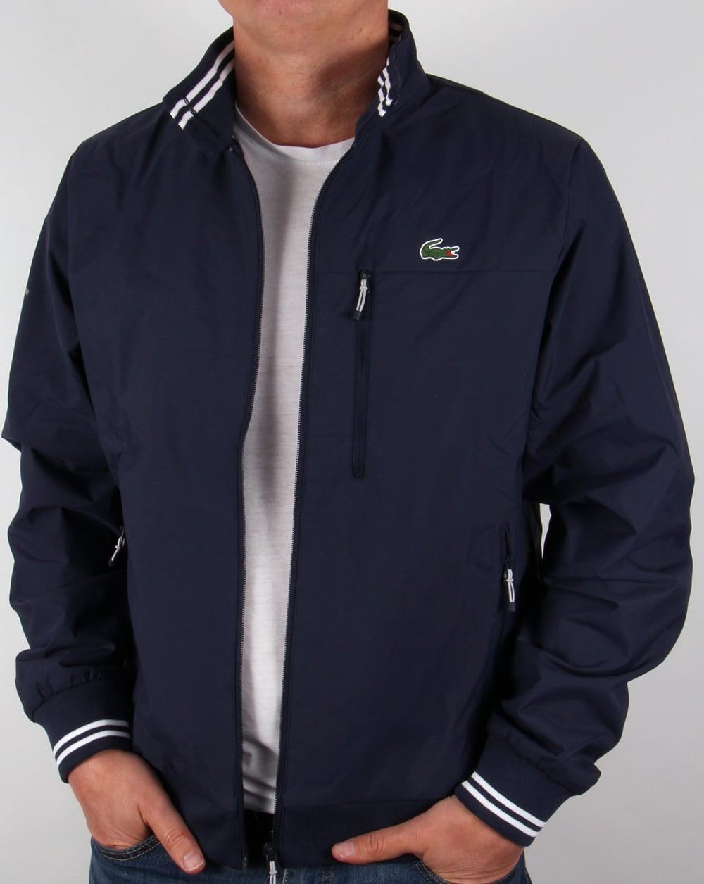 8b3a77f53f Lacoste Golf Jacket Navy