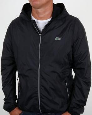 Lacoste Hooded Jacket Black