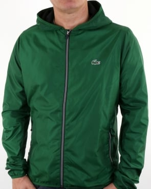 Lacoste Hooded Jacket Green