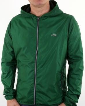 Lacoste Hooded Jacket Green