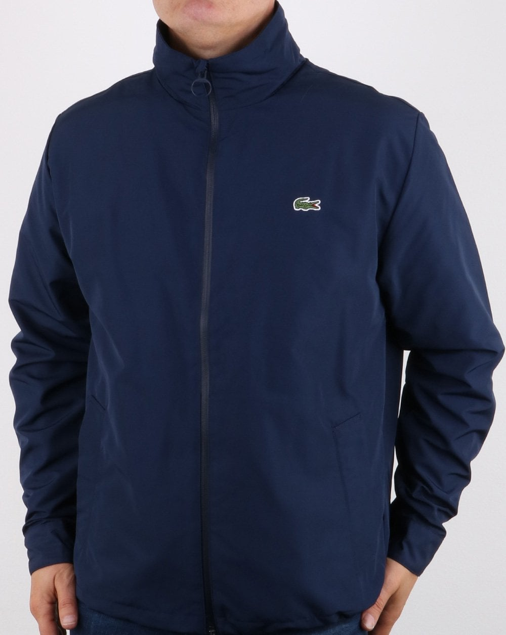 305a2dc91 Lacoste Lacoste Jacket Concealed Hood Navy