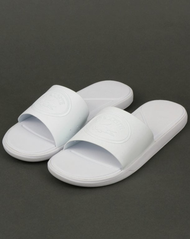 discount brand new unisex Lacoste L.30 Sliders In White free shipping hot sale visit view online zLUL0Kp
