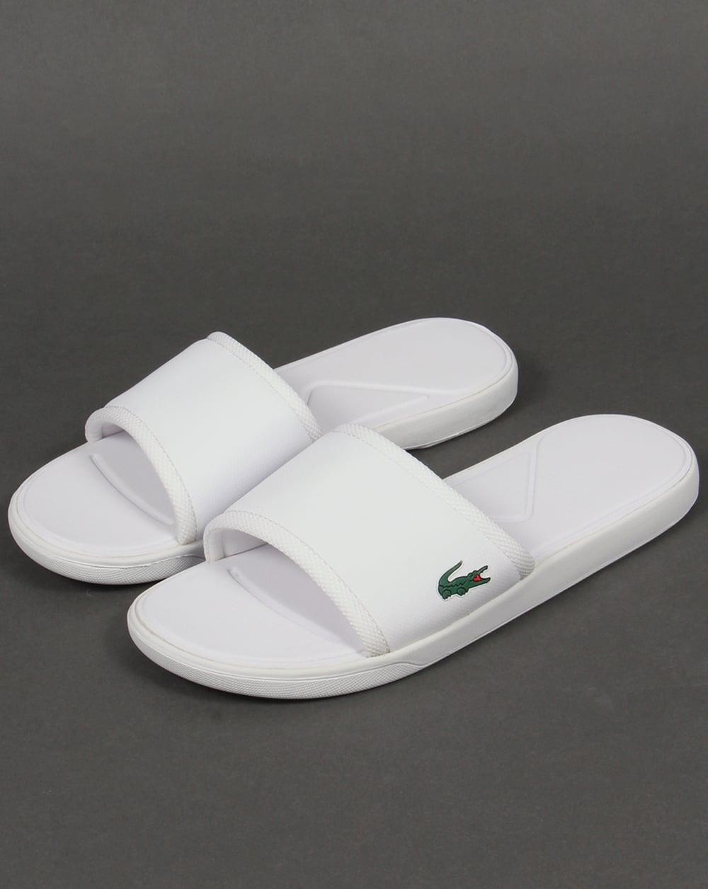 4ae17b46b Lacoste Lacoste L.30 Sport Sliders White