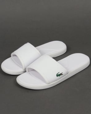 Lacoste Footwear Lacoste L.30 Sport Slides White